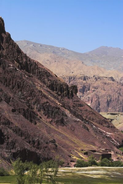 Pai Mori Gorge, between Kabul and Bamiyan (the southern route), Bamiyan province, Afghanistan, Asia