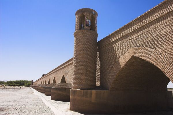 Pul-I-Malan, an ancient bridge of 15 arches now reconstructed, Herat, Herat Province, Afghanistan, Asia