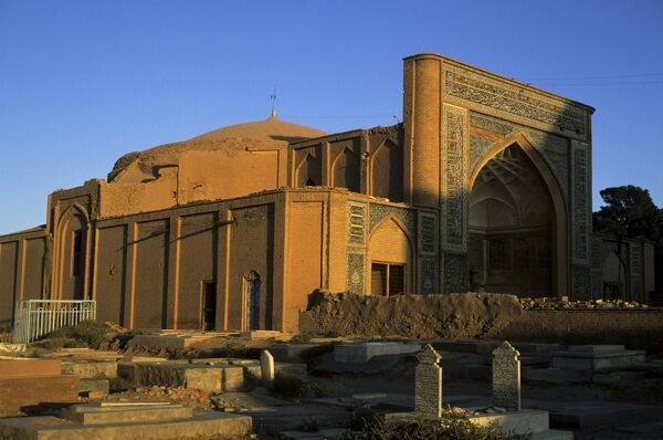 Tomb of the poet Jami, greatest of the 15th century poets, Herat, Afghanistan, Asia