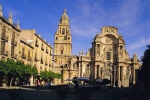 The Cathedral in Murcia