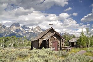 Chapel of the Transfiguration, Grand Teton National Park, Wyoming, United States of America