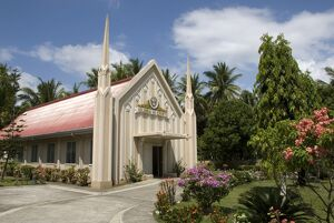 Iglesia Ni Cristo, characteristic modern style of church built by this active Christian