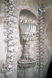 The Ossuary in Sedlec, Kutna Hora, UNESCO World Heritage Site, Czech Republic, Europe