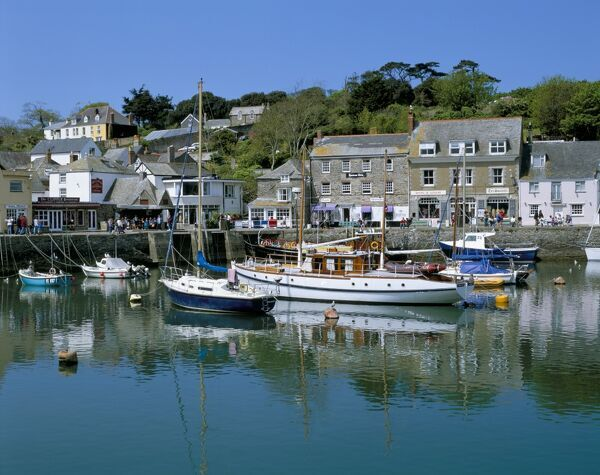 Padstow harbour, Padstow, Cornwall, England, United Kingdom, Europe