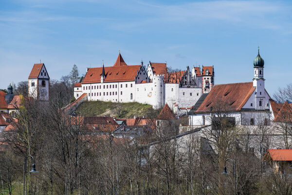 St. Mang Monastery, Fussen, Bavaria, Germany, Europe
