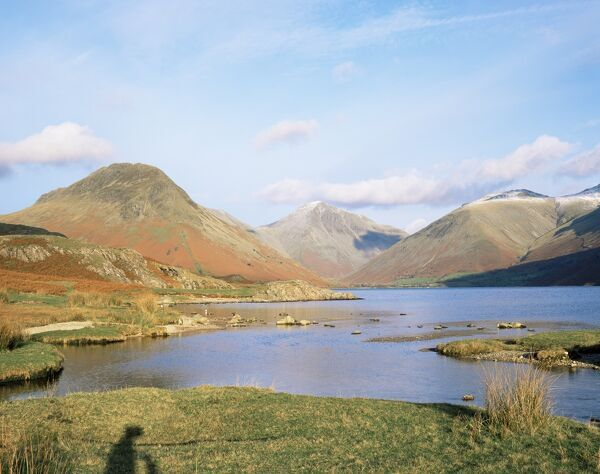 Wastwater with Wasdale Head and Great Gable, Lake District National Park