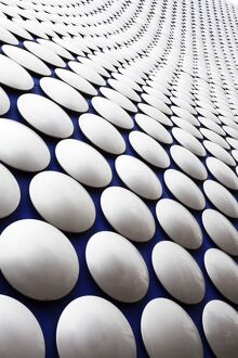 Abstract view of the Selfridges Building at The Bullring, Birmingham, West Midlands