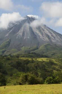 Arenal Volcano from the La Fortuna side, Costa Rica