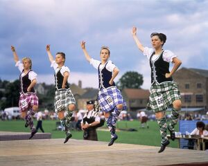 Dancers at the Highland Games