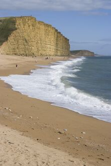 golden cliff beach west bay near bridport dorset