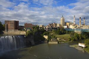 High Falls Area, Rochester, New York State, United States of America, North America