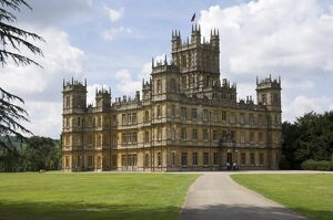 Highclere Castle, home of the Earl of Carnarvon, the 5th Earl famous for his archaeological