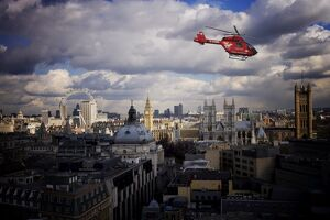 london air ambulance westminster london england