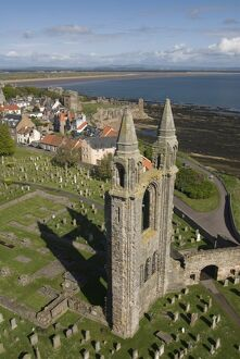 St. Andrews Cathedral, Fife, Scotland, United Kingdom, Europe