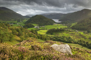 view south thirlmere wren crag lake district