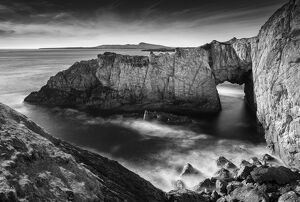 white arch rhoscolyn isle anglesey north wales